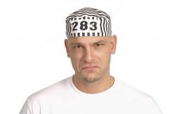 HAT: CONVICT BLK/WHITE STRIPE