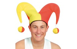 HAT: JESTER WITH 2 BALLS