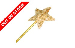FAIRY WAND - SEQUIN GOLD