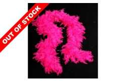 Feather Boa Hot Pink/ Silver For Hen Party Accessories