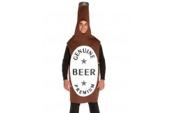 Rasta Imposta Brown Beer Bottle Adult Costume for stag party ideas