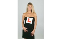 Flashing Red L Plate Sign ' Hen Party Ideas