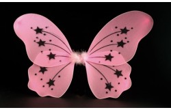 MISS BEHAVE LARGE FAIRY WINGS - PINK
