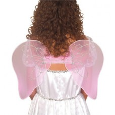 ACCESSORY: PINK FAIRY WINGS